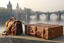 Fashionable Luggage / Leather Weekend Bags & Luggage