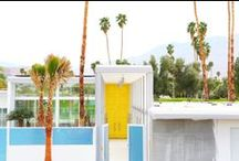 Casa Palm Springs / Inspiration for decorating our Palm Springs casa!