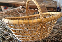 Basketry & Weaving / The art of creating baskets, basket supplies, etc., and gorgeous woven creations. I've only just started this hobby, but I thoroughly enjoy it! / by Jennifer Ray Miller