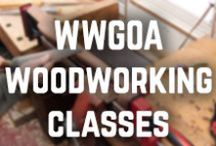WWGOA Woodworking Classes / Looking for a woodworking class? You can learn from the pros at WoodWorkers Guild of America. / by WoodWorkers Guild of America
