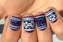 Winter & Christmas Nails / Winter and Christmas nails to inspire you this season.