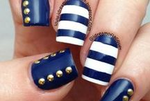 Studded Nails / I love using studs on my nails and this board is an inspiration for me.