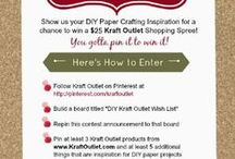 Kraft Outlet inspiration / by Janet Bagnall