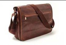 Men's Messenger Bags / Italian Leather Messenger Bags