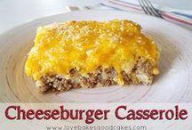 Recipes - Main dishes Beef / Recipes involving hamburger  / by Mary Jaques