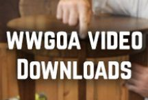 WWGOA Woodworking Video Downloads / Videos to download, which can help increase your woodworking skill set! / by WoodWorkers Guild of America