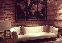 Luxury Living Rooms / Living Room furniture and cladding ideas
