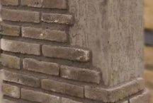 Grey Brick Slips / Grey Brick Slips from Kuci Design