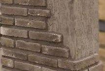 Grey Brick Slips / Grey Brick Slips from Kuci Design