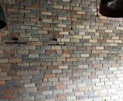 Bars, Cafes and Restaurants / Completed commercial projects using Brick Slips, Industrial Furniture and Vintage Industrial Lighting available at Kuci Design