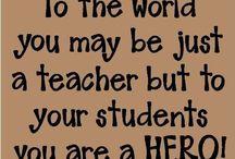 Teacher stuff / by Vanessa Barcellos