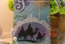 Cards: Tags by Me / #Tags inspired by the #12 tags of xmas by #Tim Holtz