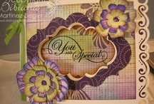 Cards: Hero Arts by Me / #cards that I created using #stamps from #Hero Arts