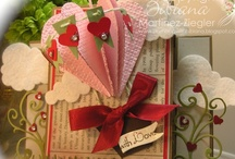 Cards: Valentine's by Me / #Cards that I have created using various #stamp companies and #dies for #Valentine's