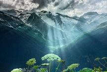 Admire: Misty Landscapes / Misty landscapes, clouds, trees...amazing nature...