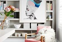 ART & GRAPHICS / Loads of inspiration on how to style your home with art.