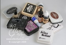 Cards: Inks / Some Info on inks, paints, alcohol inks, distress stains etc...