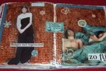 Art journalling, mini books / Every kind of journal / by Jutta König