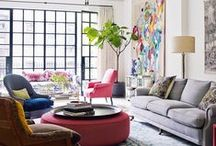 LIVING ROOM LOVE / Living room images you'll simply love! From Auckland-based interior designer, Hayley at Lou Brown Design.