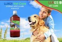 ANIMALES & G5 / ANIMAUX & G5 / Les animaux qui prennent de l'âge souffrent aussi d'arthrose et d'autres maladies invalidantes. Le LLRG5 Vet Care leur permet non seulement de retrouver de la vitalité, mais donne aussi plus de force à leurs articulations, renforce le système osseux et protége le système immunitaire. Le tout de façon naturelle!
