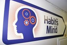 Habits of Mind / Illustration, design and implementation of 'Habits of Mind' to a secondary school converting to a 'Thinking School'