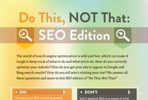 SEO / A selection of facts and tips all to do with the world of SEO. Hope you find them interesting and helpful! If you have any questions just leave a comment or tweet the team at @teambowlerhat on Twitter :)