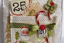 Smash/Junk books, mini albums - Christmas, December Daily / by Jutta König