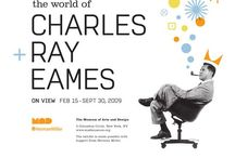 Charles & Ray Eames / アメリカのデザイナー、チャールズ・イームズとその妻レイによってデザインされた椅子。ミッド・センチュリーを代表するデザインのひとつ。