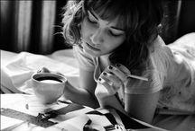 Coffee & cigarette / 最高の組み合わせ。