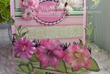 """DT: Petaloo By Me / I proudly designed for """"Petaloo""""; a floral and specialty embellishments Company, based on southern California, USA. Here you will find some cards and projects using their beautiful flowers, trims and embellishments."""