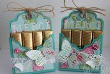 """Crafts: Candy Holders / In this board you will find all sorts of """"wrappers"""" to give away candy and or food"""