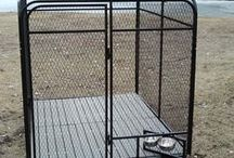 Dog Kennel Flooring / Different types of flooring for your dog kennel. Which will keep them from digging out from under his kennel.
