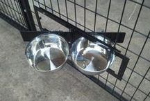 Dog Kennel Accessories / Dog Kennel Accessories to help care for your dog easier. Such as different kind of feeders, Sanitation, Shelter, flooring, cleaning items. etc.
