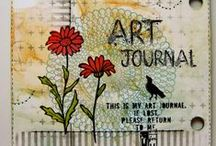 Crafts: Art Journal / some inspiration for your pages in your journals...