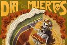 Discover: Day of The Dead / from beautiful Catrinas, to altars, ofrendas, skulls, papel picado, pan de muerto...many photos to learn about this ancient tradition and crafts to make at home!
