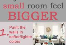 Decorating Tips / Decorating tips for every room big or small.