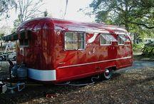 Vintage trailer , camper
