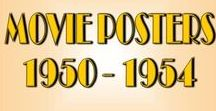 Movie Posters :: 1950-1954 / Movie Posters of the early 1950's. Years 1950 thru 1954. All film genres are included.