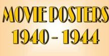 Movie Posters :: 1940-1944 / Movie Posters spanning the year 1940 thru 1944. All film genres are included.