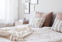 """Bedroom / """"Wake up every morning with a thought that something wonderful is about to happen."""