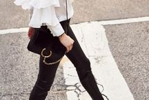Street Style / Inspiration coming directly from the streets where the real fashion can be found.