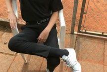 Cropped / trousers pants cargos pantalon
