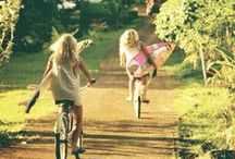 Bicicleta, Motocicletas e Vespas