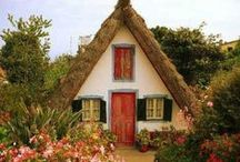 villages and cottages look like fairy tale / so loving and gorgeous !