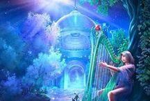 Fantasy Art / Artwork and book covers in the fantasy genre