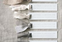 elements / all things beautiful for wedding place cards, seating charts, menus, table numbers...