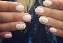 Nails / Cute nail designs and pretty colours :)