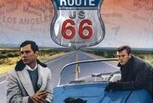 Get Your Kicks on Route 66 / Vintage cars, restaurants, signs, and fun