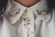 Collars & sleeves / Old style/Peter Pan/1940's