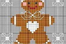 Point de Croix Gingerbread